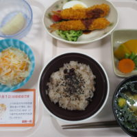 敬老会食事メニュー