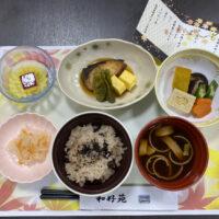 敬老会食事2020.9.21