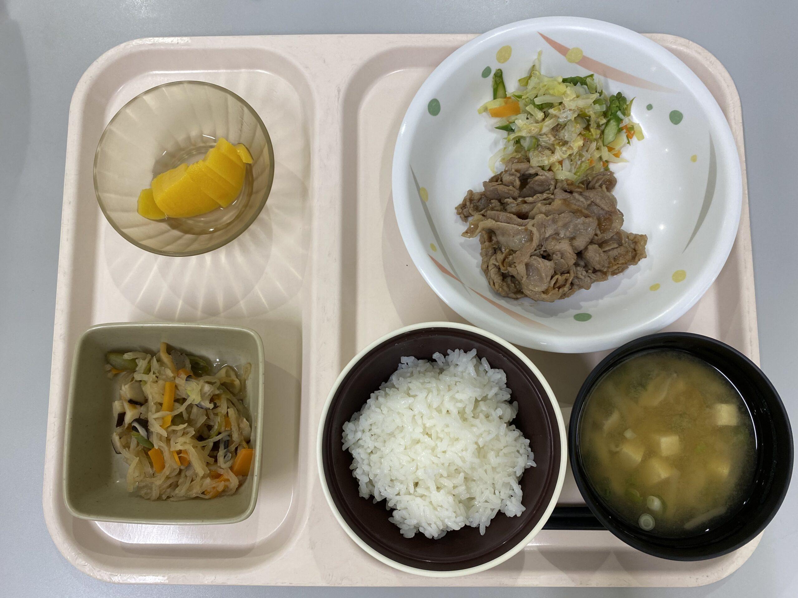 和好苑の食事